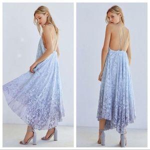 🌊Kimchi Blue Deluxe Ombre Mermaid Midi Dress NWT